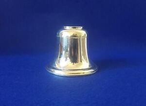Wonderful Quality Asprey Sterling Silver Bell Shape Inkwell H/M B'ham 1911
