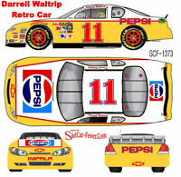 CD_1373 #11 Darrell Waltrip  Retro Pepsi Chevy Fantasy car  1:64 scale DECALS