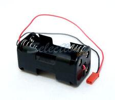 Acoms receptor Pack / Caja De Batería 4,8 v Para Aa X 4 Con Bec Plomo Para Coche Nitro