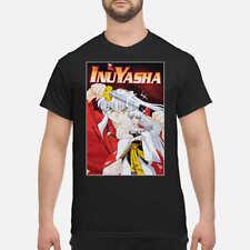 Inuyyasha Brothers Box Girls Shirt, Classic Black T-Shirt, Fashion Unisex TShirt