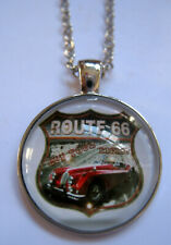 Halskette Route 66 Necklace Anhänger Pendant American Highway