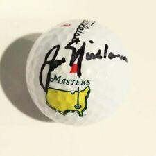 Jack Nicklaus Signed Autographed MASTERS Winner logo PGA Star Golf Ball JSA