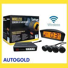 4 Sensori di Parcheggio auto WIRELESS senza fili kit Parking Assistant Fiat Ford