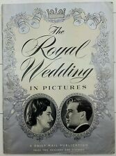 VINTAGE.THE ROYAL WEDDING.DAILY MAIL MAGAZINE.PRINCESS MARGARET.1960. SOUVENIR.