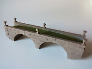 ROLE PLAY DOUBLE ARCH STONE BRIDGE LASER ENGRAVED 28mm 32mm