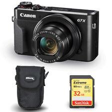 Canon PowerShot G7 X Mark II Digital Camera 1066C001 + 32GB SD + Camera Case