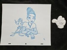 Disney Princess Tiana and the Frog Drawing/sketch animation signed
