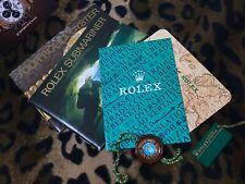 ROLEX 6X SET SUBMARINER SEA-DWELLER 14060 16610 16600 (booklet tag..) ENG 3.1995