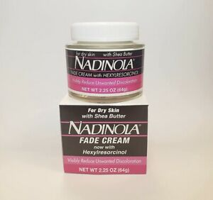 Nadinol@ Fade Cream for Skin discolouration And Blemishes Dry Skin 2.25 oz