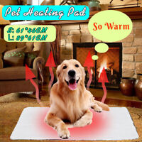 🔥Self-Heating / Electric Comfortable Pet Dog Bed Heated Pad Warming Mat Dog  g
