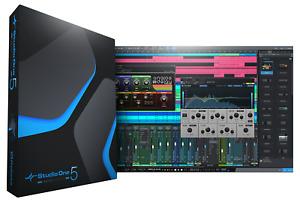New PreSonus Studio One 5 Artist DAW Professional Software eDelivery - Download