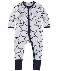 BONDS Glo Star Charcoal Zip Wondersuit - Size 2 *BNWT*