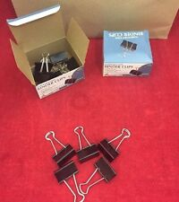 NEW LOT OF 60 SKILCRAFT Medium Binder Clips Hardened Steel 5 Boxes Of 12