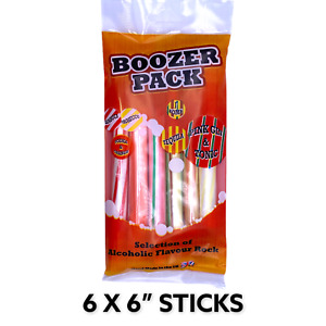 BOOZER BAG STICKS CANDY PARTY BAG BABY SHOWER WEDDING FAVOUR GIFTS BLACKPOOL