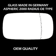 Volvo V50 Wing Mirror Glass - Silver,Aspheric,RH(Driver Side), 2004 to 2006