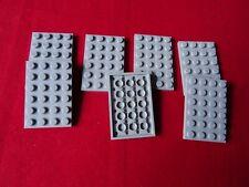 10 X LEGO-Mattoni Grigio Chiaro Bluastro 1 x 8-parte 3008 NUOVO