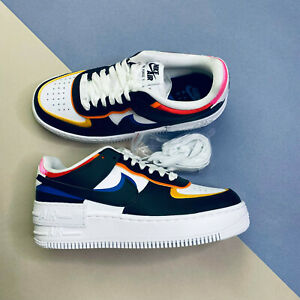 Nike Air Force 1 Shadow Womens Trainers Shoes UK 5 EUR 38.5 US 7.5 DC4462 100