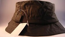 FISHING, LEISURE COUNTRY STYLE  HAT - OLIVE.WAX BUSH BACKET,SIZE XXL 61CM