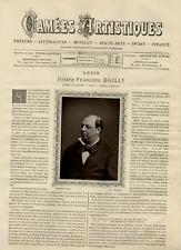 Goupil, France, Camées Artistiques, Joseph-François Dailly vintage print Photo