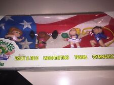 MIB Set - Olympikids - Cabbage Patch Kids Special Addition, 1995 US Olympic Team