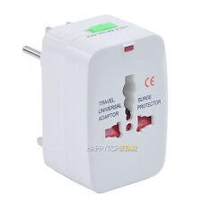 Universal Travel Power Adapter Plug for Australia Brazil Russia Italy Sweden UK