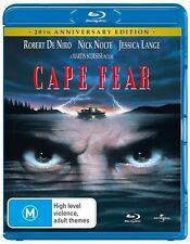 BRAND NEW & SEALED Cape Fear ROBERT DE NIRO (Blu-ray, 2011) FREE POSTAGE