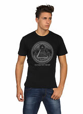 In God We Trust T-Shirt,Graphic Tee,100% Cotton,Black( Adults's Size: S,M,L,XL)