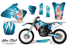 YAMAHA YZ426F 00-02 YZ400F 98-99 YZ250F 01-02 CREATORX GRAPHICS KIT YOU ROCK BLI