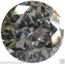 12.0 mm 7.00 ct  Round Cut Lab Diamond, SImulated Diamond WITH LIFETIME WARRANTY