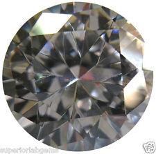12.0 mm 7.00 ct  Round Cut Lab Diamond, SImulated Diamond WITH LIFETIME WARRANTY