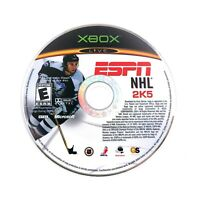 ESPN NHL 2K5 (Microsoft Xbox Original) Game Disc ONLY Tested Working