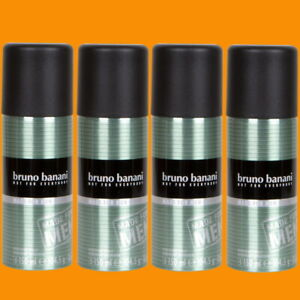 Bruno Banani MADE FOR MEN Deo Spray Deodorant 4 x 150 ml
