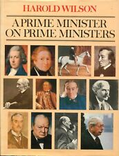 Harold Wilson on Prime Ministers signed book - UACC DEALER
