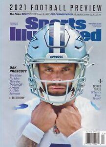 Sports Illustrated Magazine September 2021 Football Dallas Cowboys DAK PRESCOTT