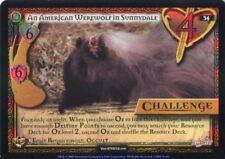 Buffy CCG TCG Angels Curse Unlimited Edition Foil Card #34 An American Werewolf