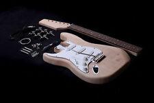 DIY Left Handed - Electric Guitar Kit - Bolt-On - Mahogany Body & Neck - EGK001L