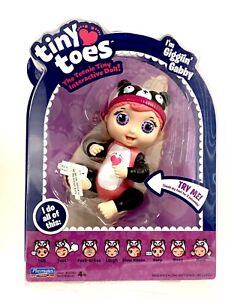 Tiny Toes Gigglin' Gabby in Panda Hat - Teeny Tiny Interactive 5 Inch Doll