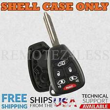 Replacement Case for Chrysler Jeep Dodge Keyless Entry Remote Car Key Fob 6btn
