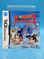 jeu video notice BE nintendo DS FAH worms open warfare 2