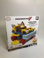 NEW Mario Kart 7 Donkey Kong Bolt Buggy Kart Building Set 25 PC 6+ K'nex Toys