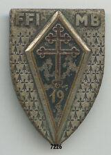 Insigne infanterie , 19  DI. /  FFI. - MB.
