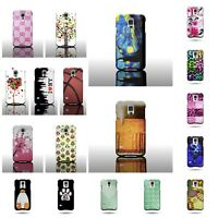 For Samsung Galaxy S5 - Premium Hard Snap On Plastic Design Phone Cover Case