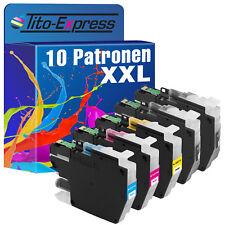 10 Patronen XL ProSerie für Brother LC-3211 DCP-J 572DW DCP-J 772DNW MFC-J 895DW