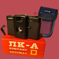 Lomography Lomo LCA 35mm Film Camera Bag Sealed 1990 Ussr Compact NEW - B83,A05