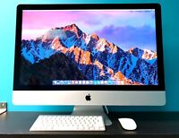 "Apple iMac 27"" / 3.8GHz QUAD Core i7 / Upgraded 16GB RAM & 2TB HDD / OS-2017"