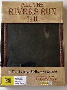 All the Rivers Run - 1 & 2 (DVD, 6-disc Leather Collector's Edition) ALL Regions