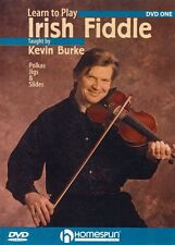 Learn to Play Irish Fiddle Lesson One Polkas Jigs and Slides Dvd 000641755