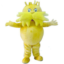 Christmas The Lorax Mascot Costume Party Monster Fancy Dress Adult Parade Outfit