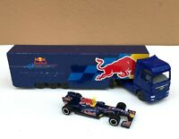 Majorette Red Bull Team : Man TGX 1/87 Blue Head with RB6 F1 no.11/64