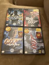 007: NightFire, Nothing, Fire, Russia (Nintendo GameCube, 2002) 4 Game Lot Read!